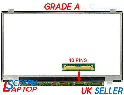 "Compatible Samsung LTN156AT35-P02 15.6"" LED HD Razor Pantalla Brillante Panel de"