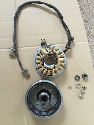 Yamaha SR500 SR 500 Engine Generator Stator Windings & Flywheel