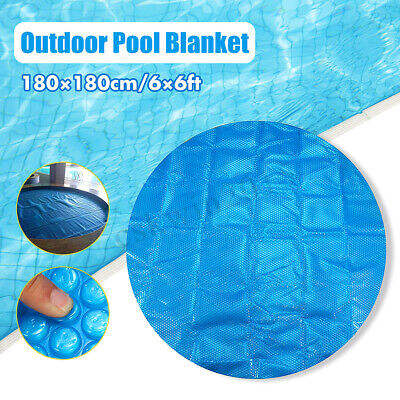 Happy Hot Tubs Quality 7ft x 7ft Thermal Floating Spa Blanket Hot Tub Cover 400 Micron Bubble