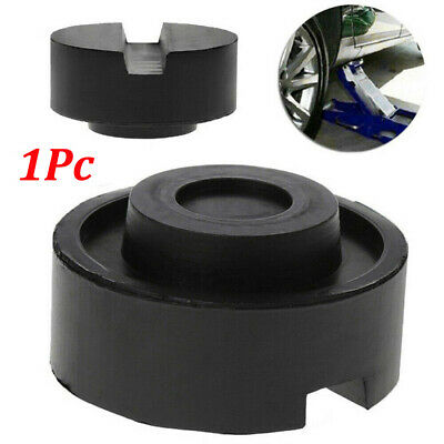 Car Jack Adapter Lift Rubber Pad Auto Slotted Frame Rail Floor Stand Holder US