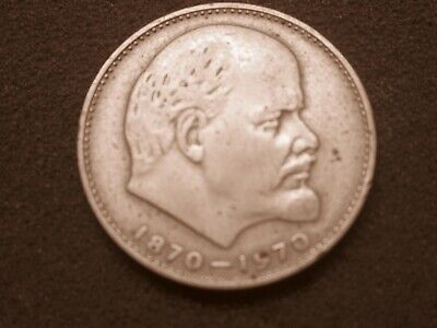 2 x 1 ruble coins  from Russia