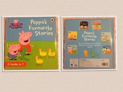 PEPPA'S FAVOURITE STORIES 6 Books in 1 (NEW, 2013) Peppa Pig Storybook includes