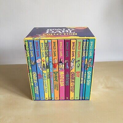 Roald Dahl: Book Boxset Collection (1 Book Missing) The Witches, Matilda, BFG