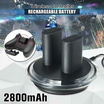 Dual Charging Dock Station Charger + 2 Battery Pack For XBOX ONE/S Gift For Kid