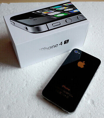 Apple iPhone 4s - 8GB - Black Smartphone Model A1387. Boxed.