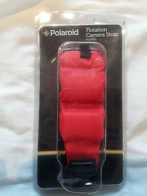 Polaroid Floating Flotation Wrist Strap (Red) For Waterproof Cameras/Camcorders