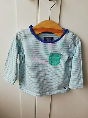 Joules Boys' Striped Top, 6-9 Months
