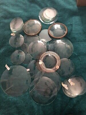 Vintage Clock Parts - Job Lot Clock Glass