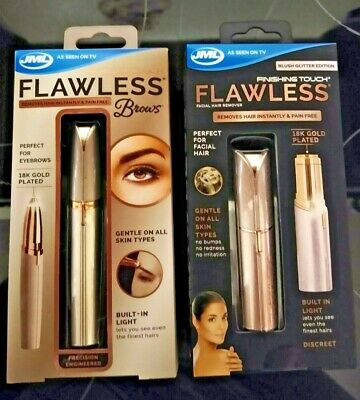 JML Finishing Touch Flawless (Blush Edition) & Flawless Brows *BRAND NEW*