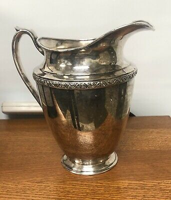 Vintage Oneida LTD Brookline Water Pitcher