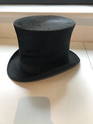 Vintage silk top hat Cooper, Box & Co