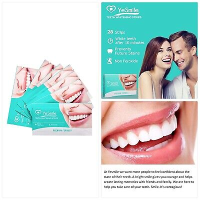 Teeth Whitening Strips By Pearlypoised Coconut Flavoured Teeth