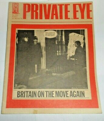 PRIVATE EYE 22 March 1974 No 320 10 Downing Street TUC Britain On The Move Again