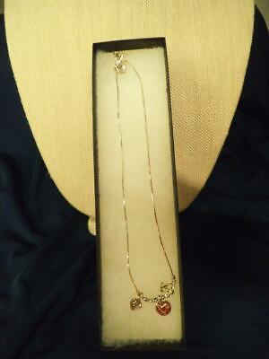 Silpada Sterling Silver Signed Charm Necklace