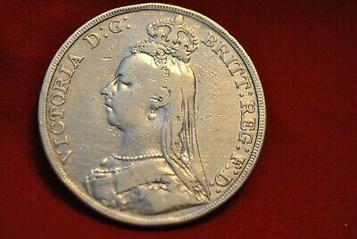 1889 Great Britain Crown coin