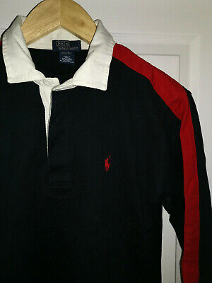 Boys age 8-10 RALPH LAUREN Rugby Polo t shirt. Size S