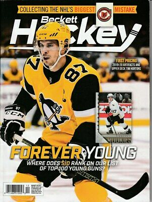 Dec 2019 Hockey Beckett Monthly Price Guide Vol 31 No 12 Sidney Crosby