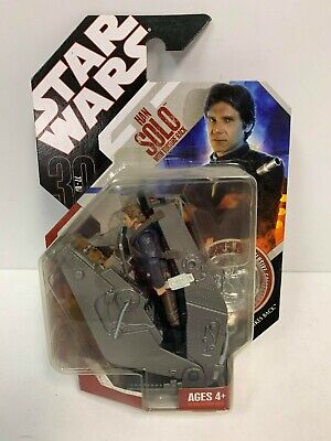 """Hasbro Star Wars 30th Anniversary HAN SOLO with TORTURE RACK 3.75"""" Action Figure"""