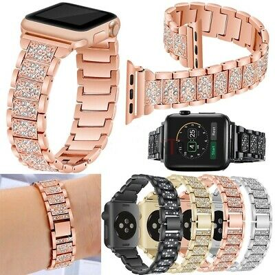 For Apple Watch Series 5 4 40/44MM Stainless Steel Bracelet iWatch Band 38/42mm