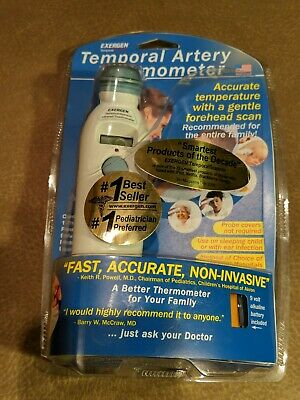 EXERGEN Temporal Artery Thermometer TAT-2000C Fast Accurate NEW IN PACKAGE