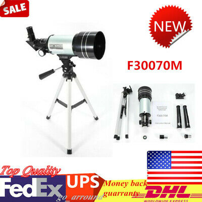 Astronomical Refractor Telescope w/ Tripod  F30070M Christmas Gift for Kid