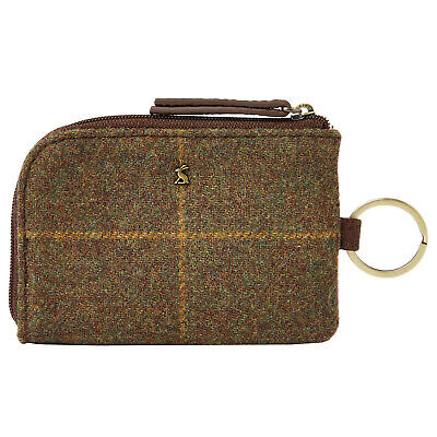 Joules Everleigh Tweed Womens Wallet/purse Purse - Brown One Size