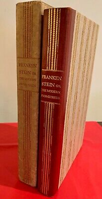 Frankenstein, or The Modern Prometheus, Mary Shelley. Limited Editions Club 1934