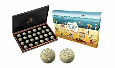Free Sign. Post - 2019 $1 Great Aussie Coin Hunt Full Set Of 26 (A-Z) Proof Set