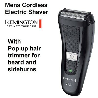 Remington Mens Dual Shaver Cordless Electric Rechargeable Razor Shaving Kit NEW