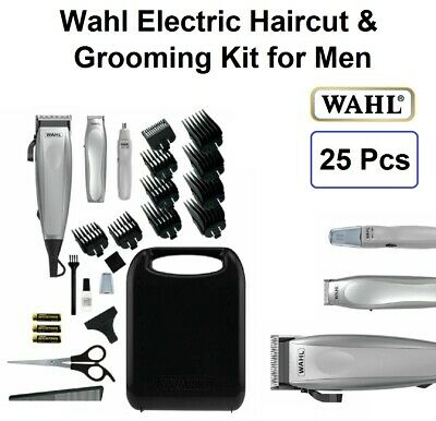 WAHL Hair Clippers Cordless Beard Trimmer Mens Grooming Haircut 25pc Electric