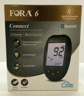 **NEW** FORA 6 Connect Blood Glucose and β-Ketone Monitoring System