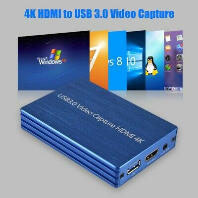 Capture Card Dongle 1080P 60fps FHD HDMI Video Recorder 4K HDMI to USB 3.0 Video