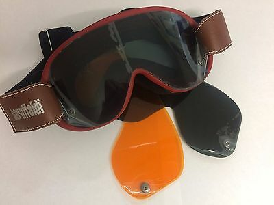 Baruffaldi Speed 4 Goggles In Red With 3 Lenses (708216)