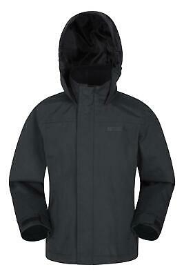 Mountain Warehouse Boys Jacket with Taped Seams and Two Zipped Security Pockets