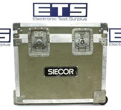 Siecor Electronic Test Equipment Flight Road Case w/Handle & Wheel