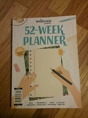 The Mindfulness Journal 52-Week Planner 2020 Edition