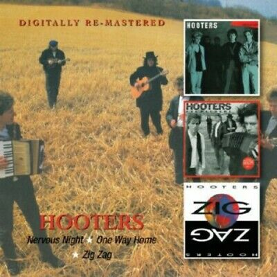 The Hooters - Nervous Night / One Way Home / Zig Zag CD NEW