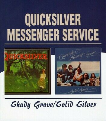 Quicksilver Messenger Service - Shady Grove / Solid Silver (2 Disc) CD NEW