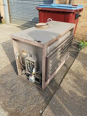 REZNOR Industrial Gas Fired Air Heater Warehouse Space Warm Factory Unit 94kw