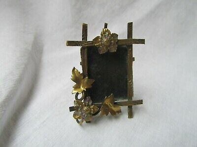 Antique Miniature French Gilt Metal 19th century Photograph frame 1890's