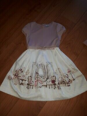 Girls Mayoral Dress Age 6 With Tights