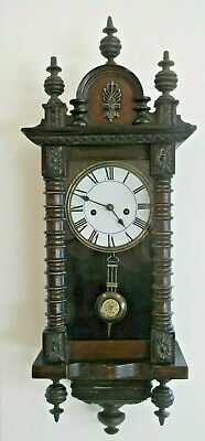 Small Proportioned Regulator Wall Clock For Tiding Up, Perfeect Working Order.