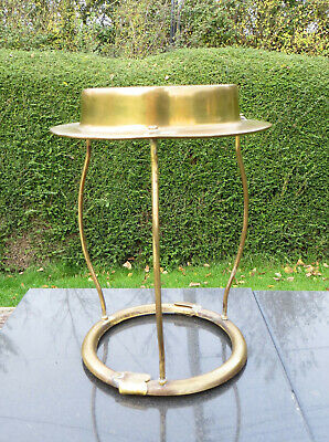 Brass Silk Shade Carrier/Support for Duplex or Similar Oil Lamp Gallery