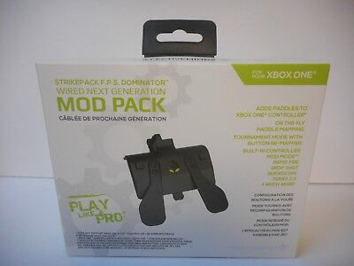 XBOX ONE Collective Minds Strike Pack F.P.S. Dominator MOD Pack ~ Factory Sealed