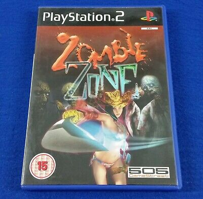 ps2 ZOMBIE ZONE Game PAL UK EXCLUSIVE RELEASE A Zombie Survival Game
