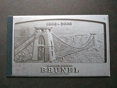 Gb Royal Mail Prestige Stamp Booklet - Brunel - Mint Condition