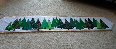 Christmas handcrafted table runner in various colours