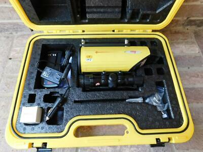 Leica Piper 100 Construction Pipe Laser Mint Condition With Scope