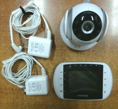 Motorola Wireless Video Baby Monitor 2.8 inch Color LCD with Remote Zoom MBP33S