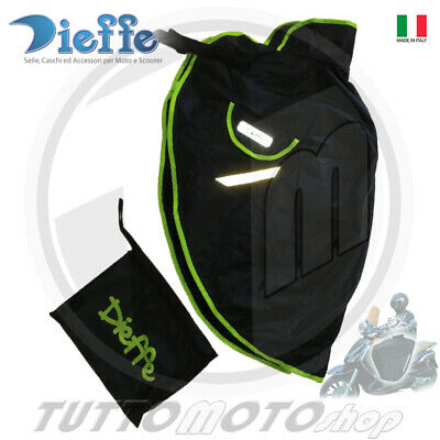 Coprigambe Scooter Maxi-Scooter Termoscudo Impermeabile Universale Verde Fluo